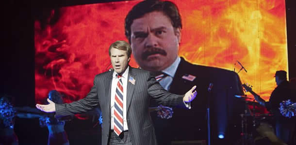 Will Ferrell in The Campaign