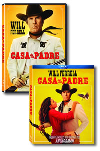 Casa de Mi Padre on DVD Blu-ray today