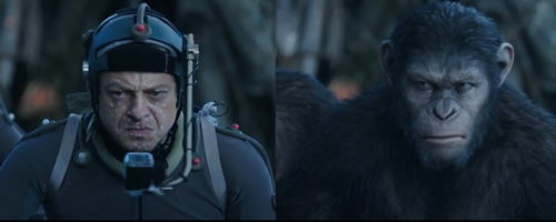 Side-By-Side 'Dawn of the Planet of the Apes' Performance ...