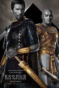 Exodus: Gods and Kings on DVD Blu-ray today