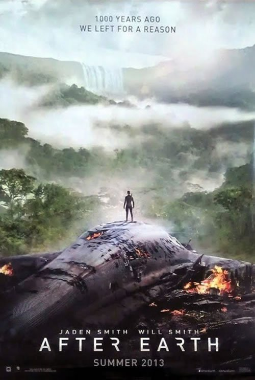 After Earth poster