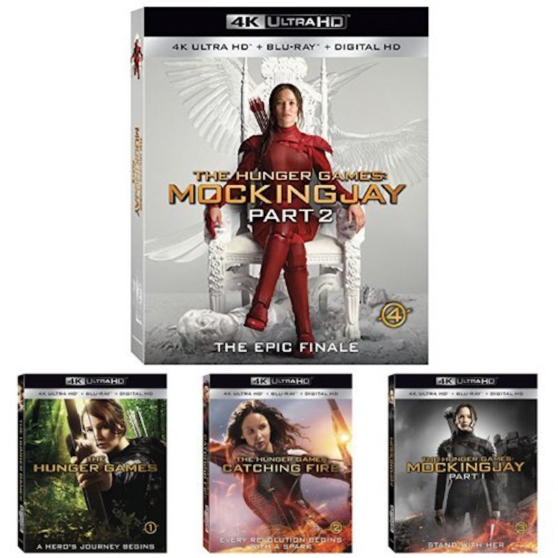 The Hunger Games: The Complete 4K Collection