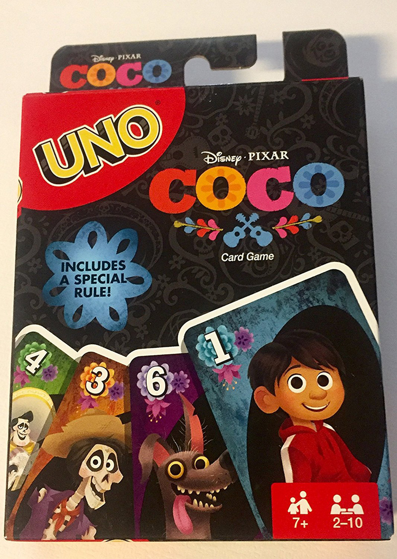 Coco UNO Card Game Full Color Special Rule Edition