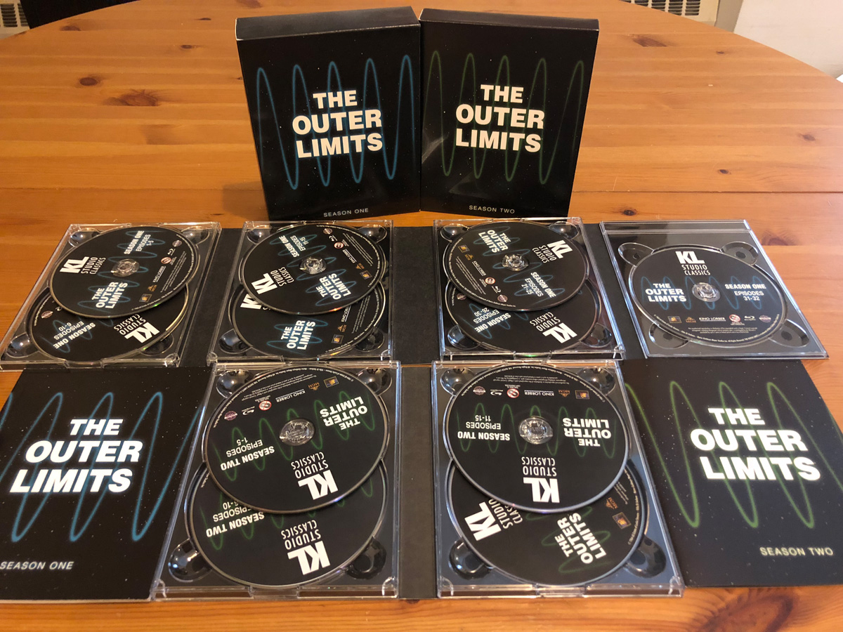 The Outer Limits Season 1 and 2