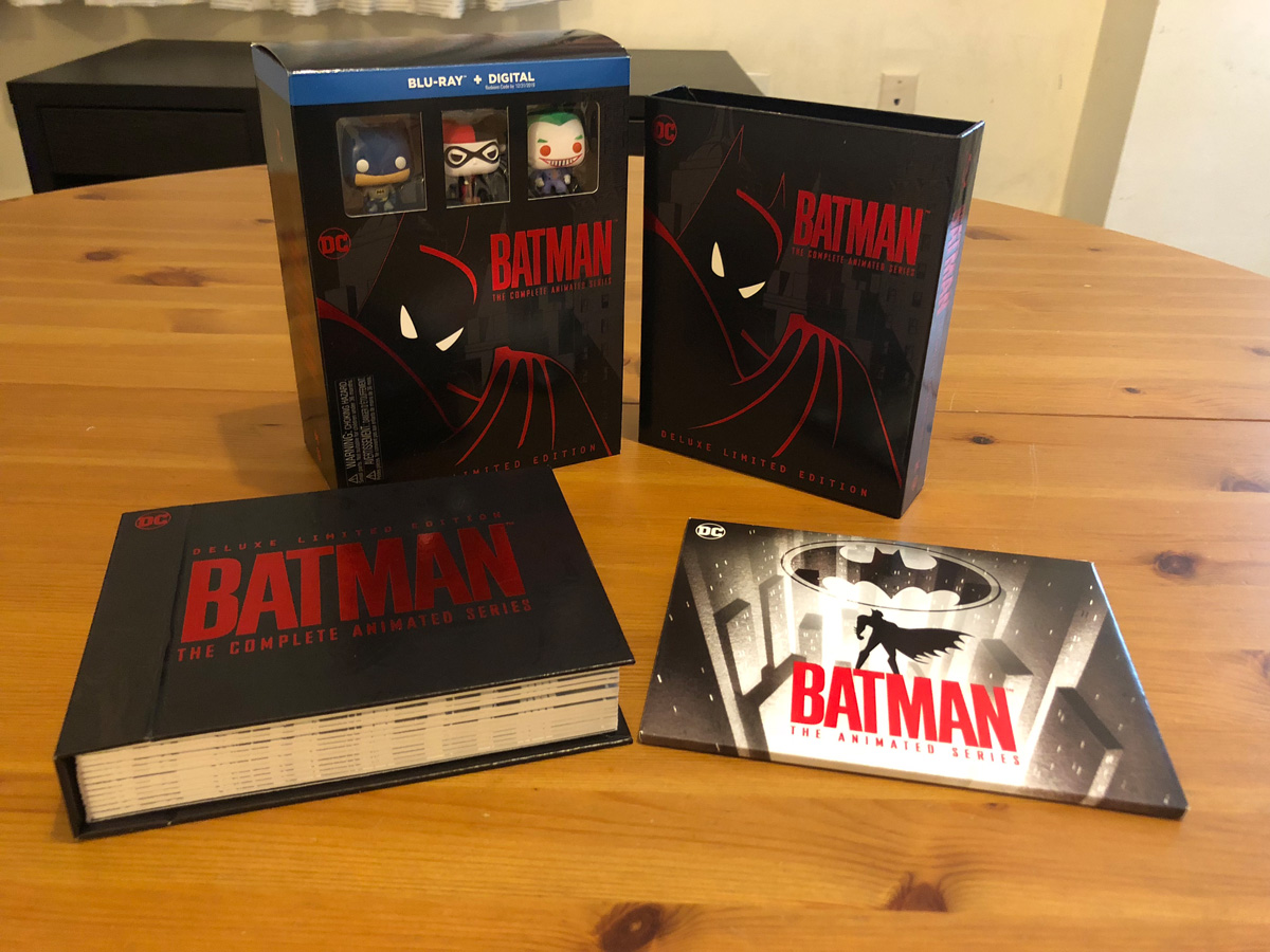 Batman: The Animated Series Complete Collection Blu-ray