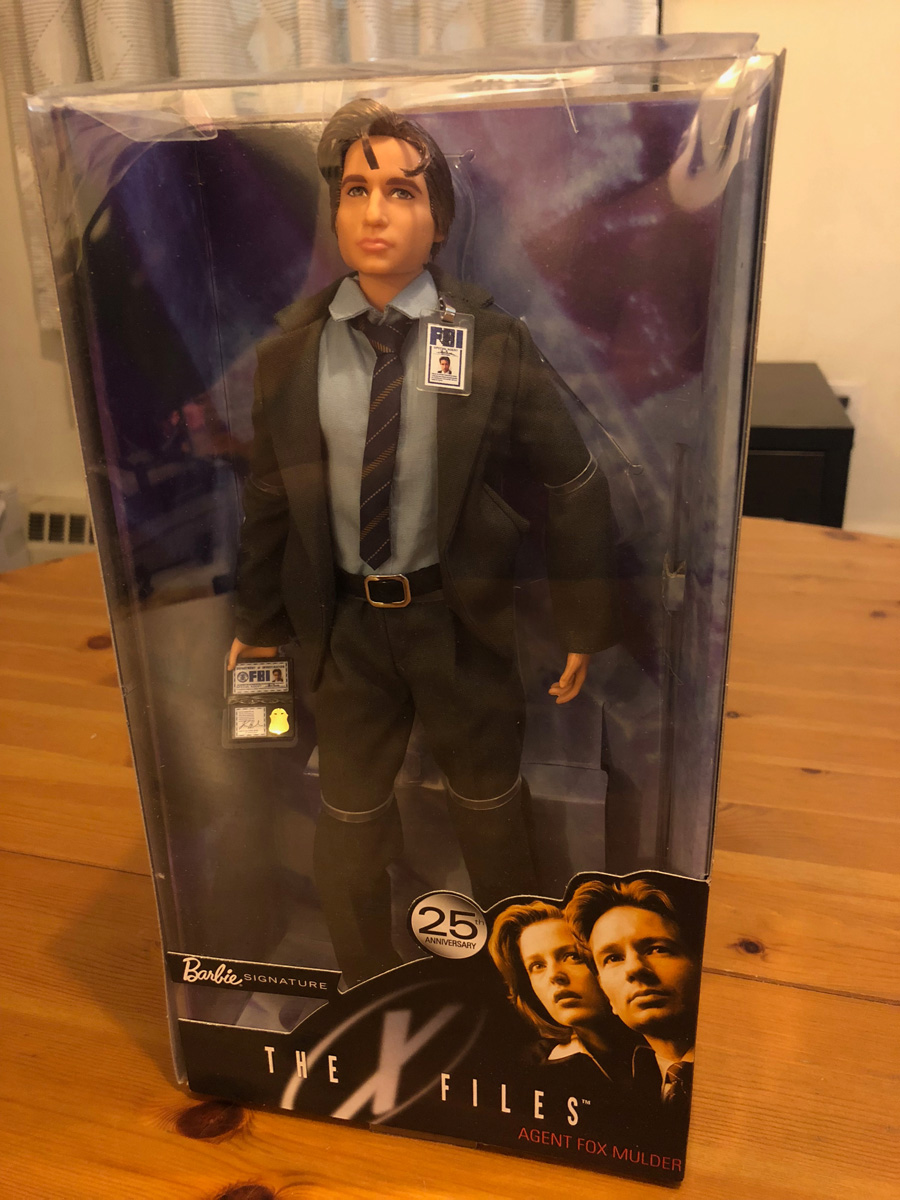Barbie The X-Files Agent Mulder Doll