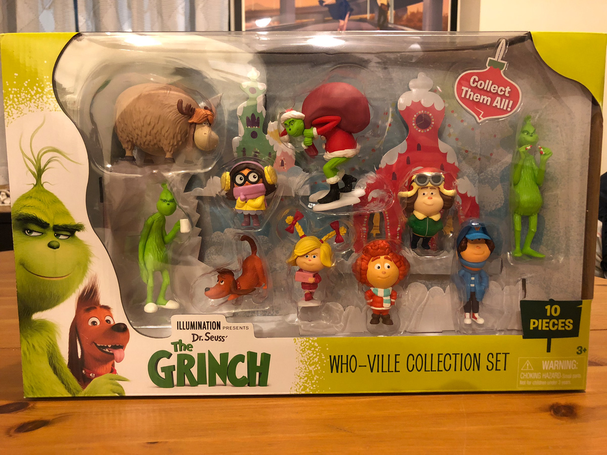 The Grinch Who-Ville Collection Set