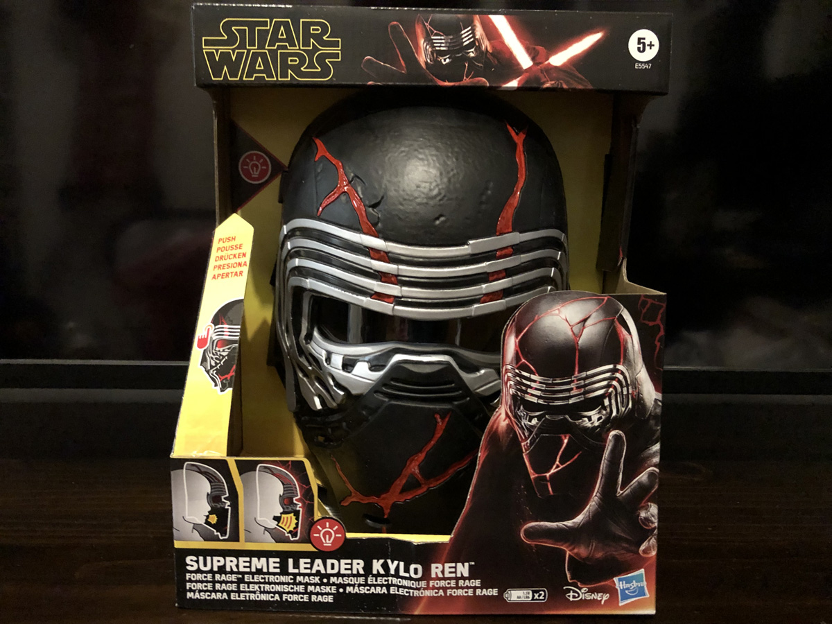 Rise of Skywalker Kylo Ren Force Rage Electronic Mask