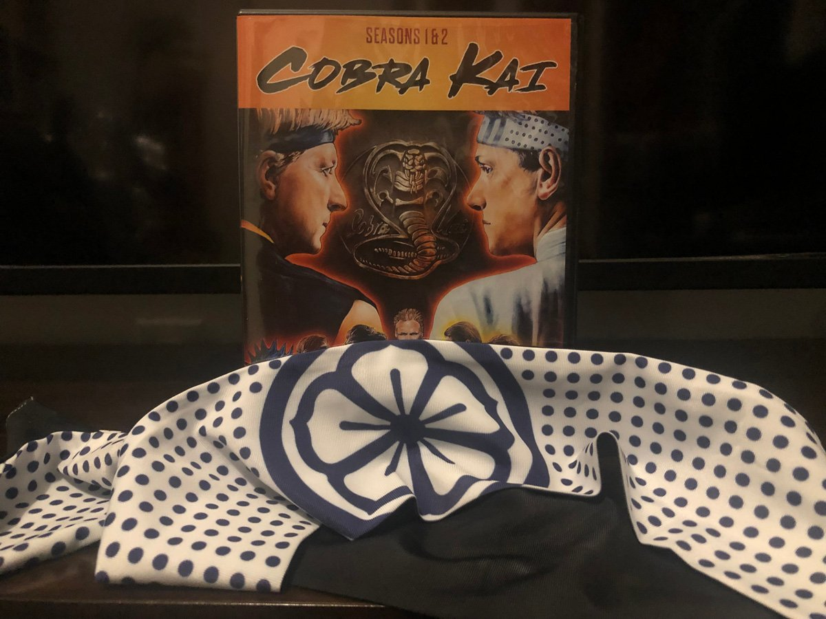 Cobra Kai Season 1 & 2 Set with Double-Sided Headband