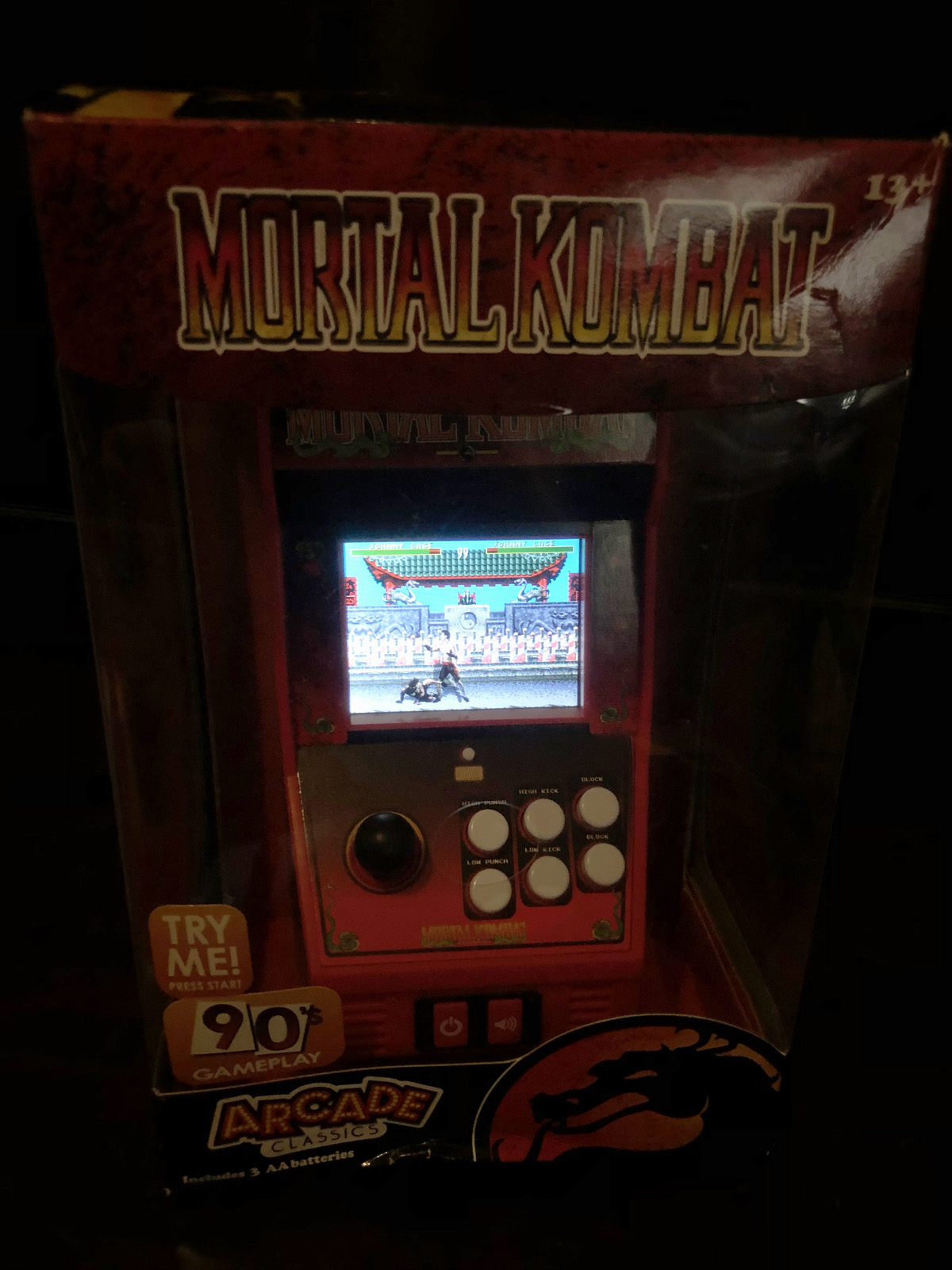 Mortal Kombat - Handheld Arcade Game