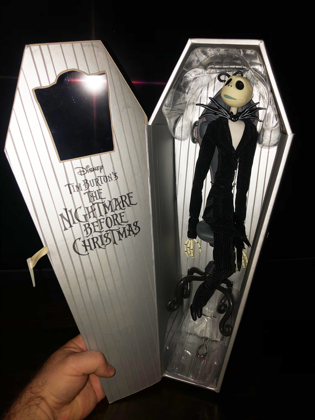 Nightmare Before Christmas: Jack in Chair Deluxe Coffin Doll