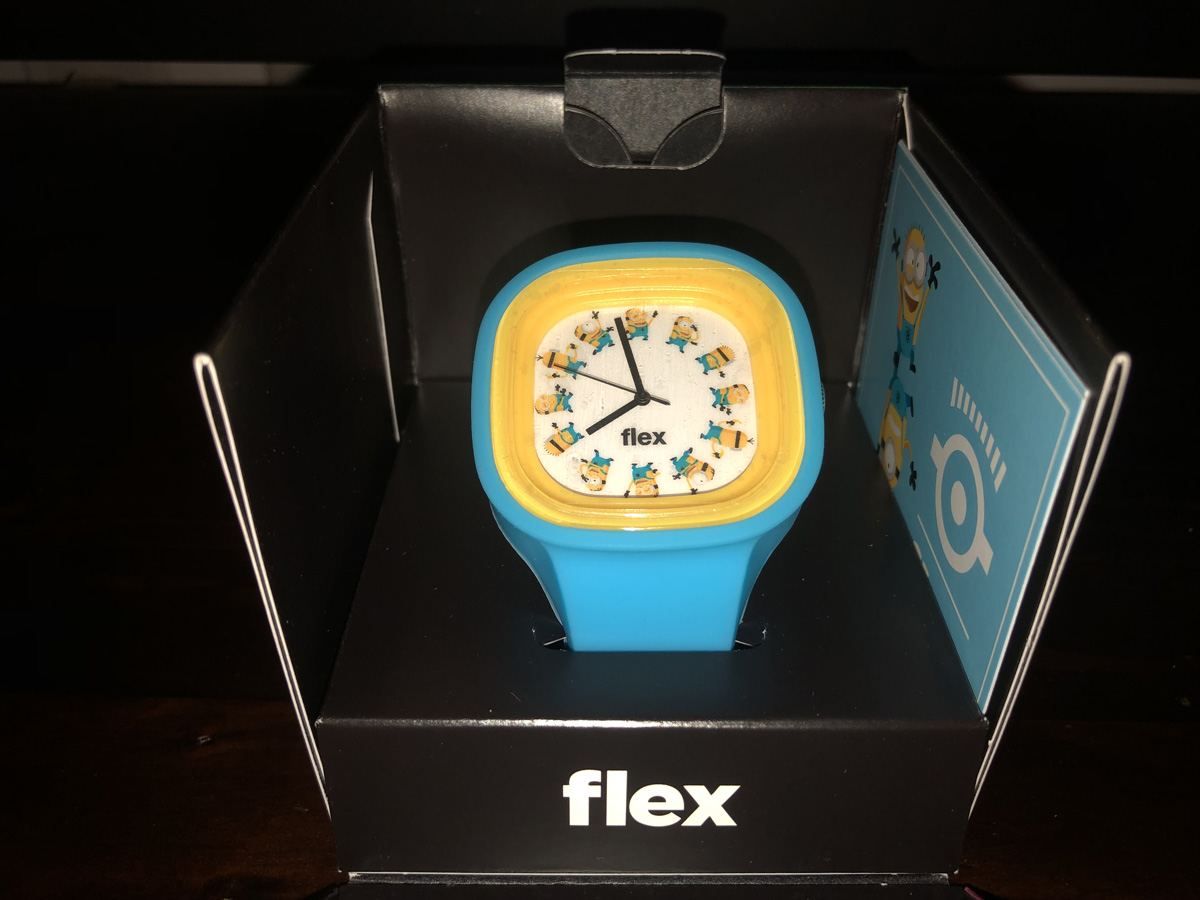 Flex Minions Watch