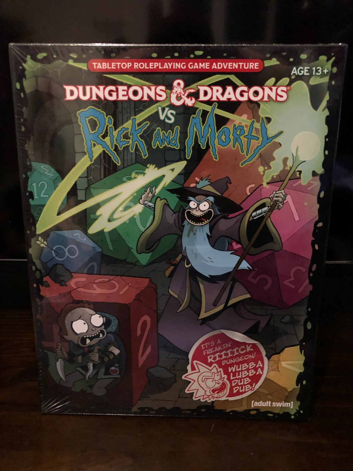 Dungeons & Dragons vs Rick and Morty