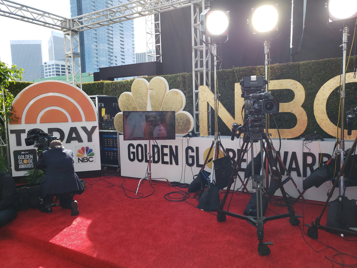2020 Golden Globes Red Carpet