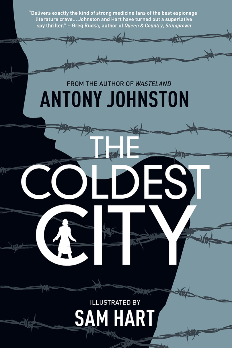 BOOK TITLE: The Coldest City