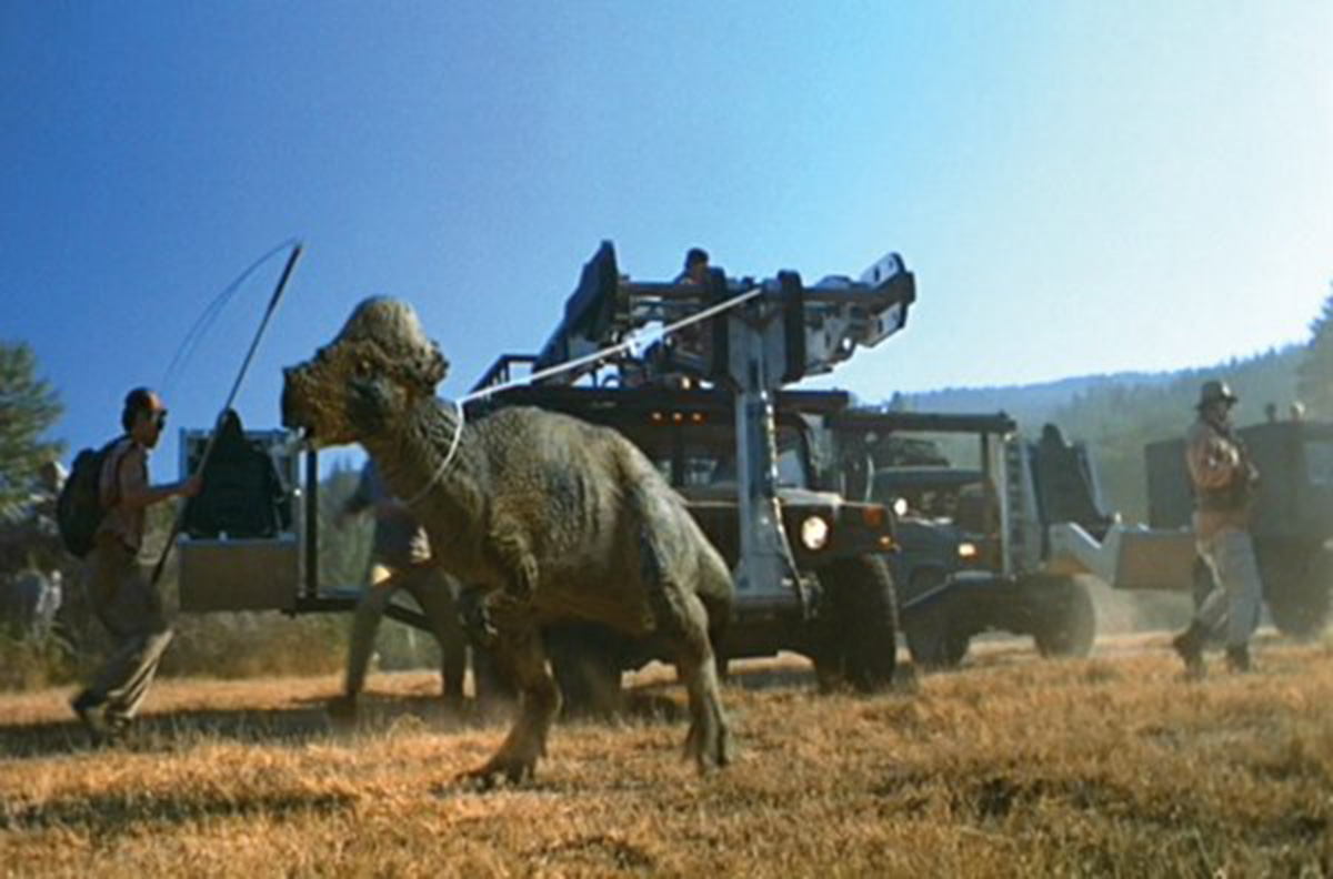 Pachycephalosaurus in The Lost World: Jurassic Park (1997)