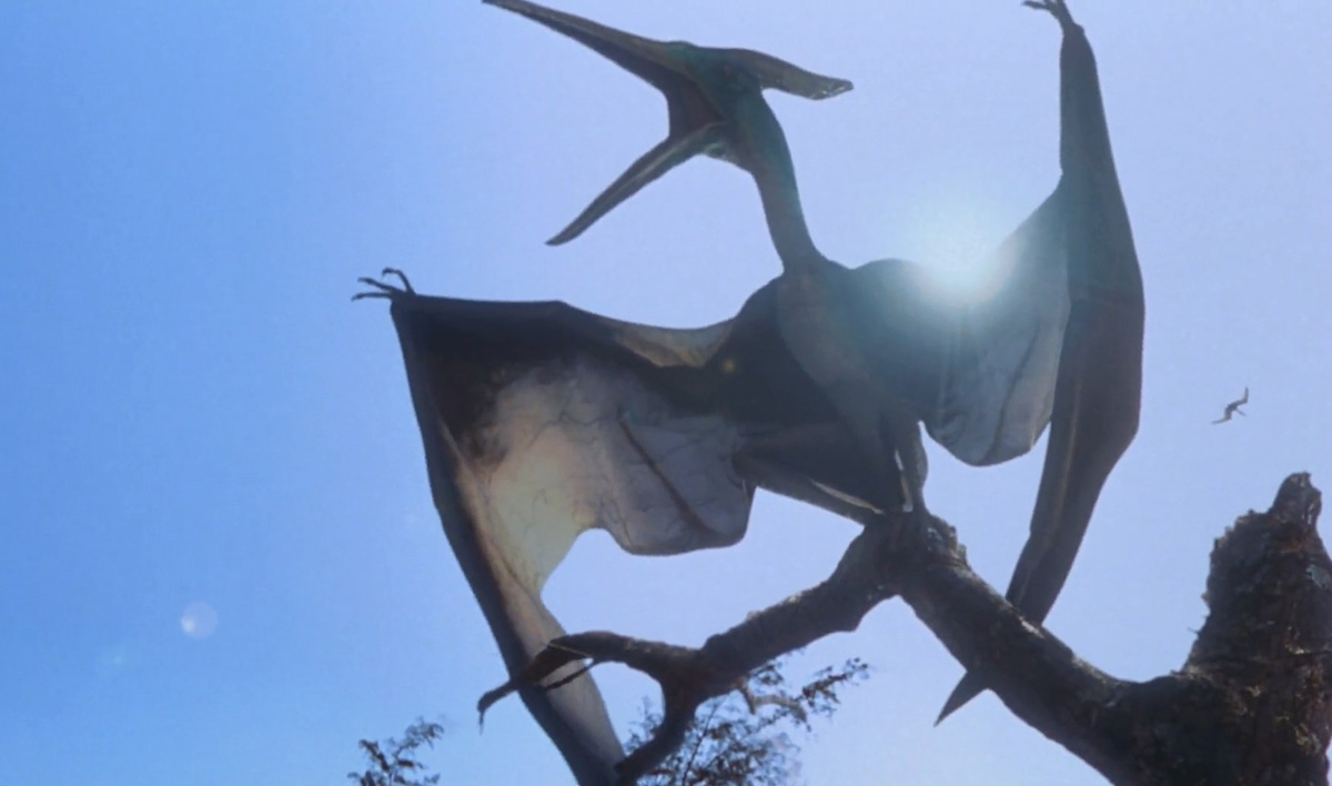 Pteranodon in THE LOST WORLD: JURASSIC PARK (1997)