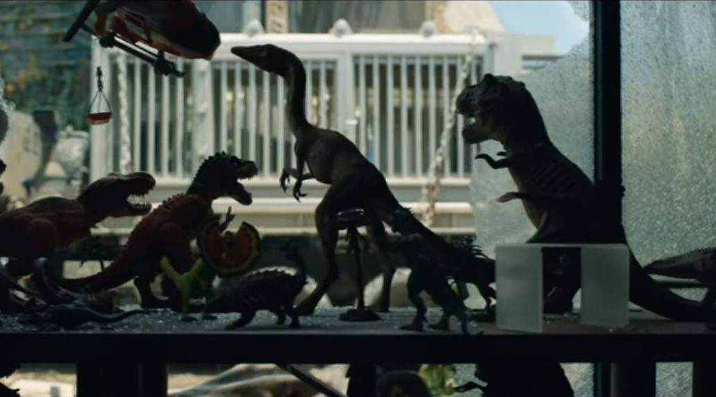 Compsognathus in JURASSIC WORLD: FALLEN KINGDOM (2018)