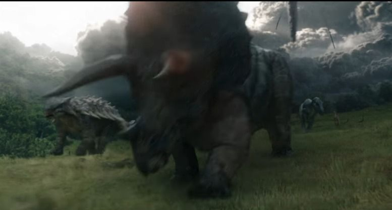 Triceratops in JURASSIC WORLD: FALLEN KINGDOM (2018)