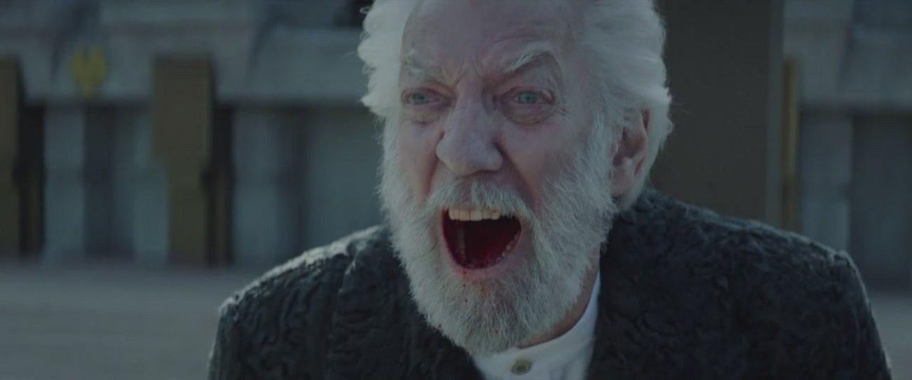 President Coriolanus Snow, The Hunger Games: Mockingjay - Part 2 (2015)