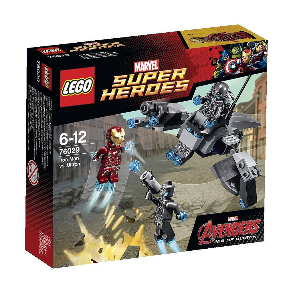 Iron Man vs. Ultron (76029)