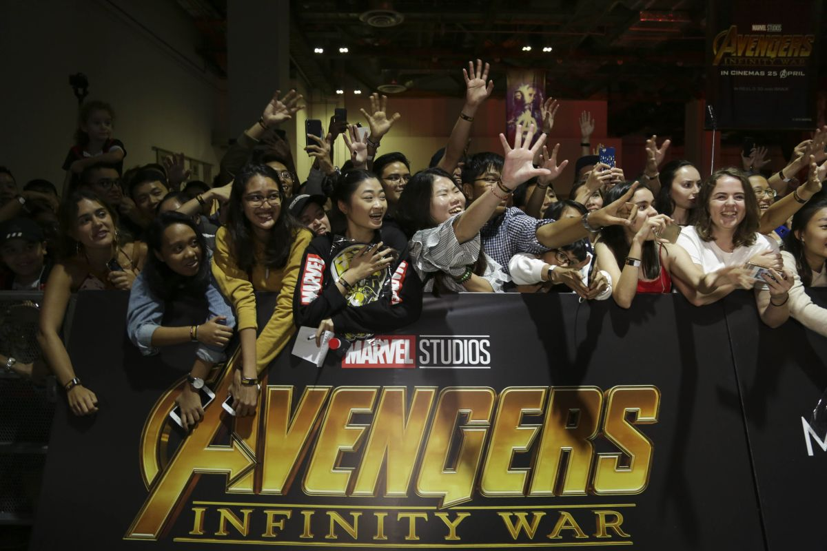 Avengers: Infinity War Singapore Fan Event
