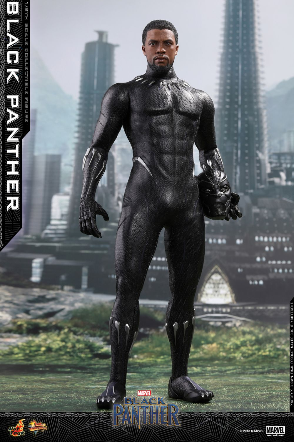 Black Panther Hot Toy