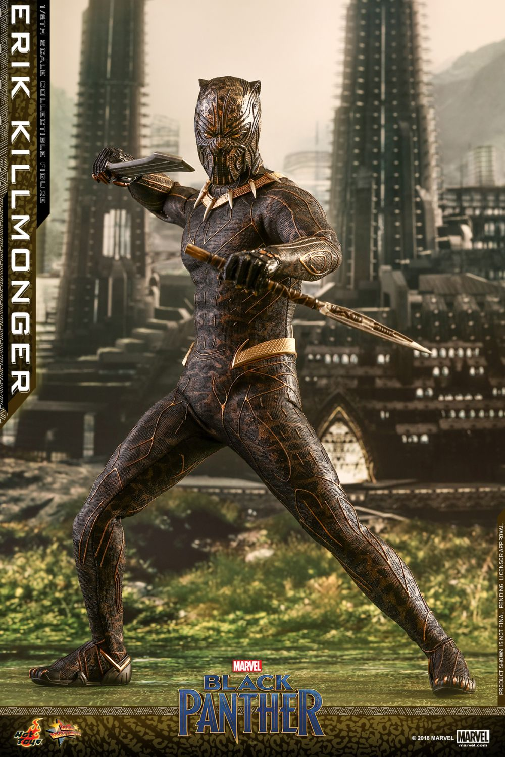 Killmonger Hot Toy