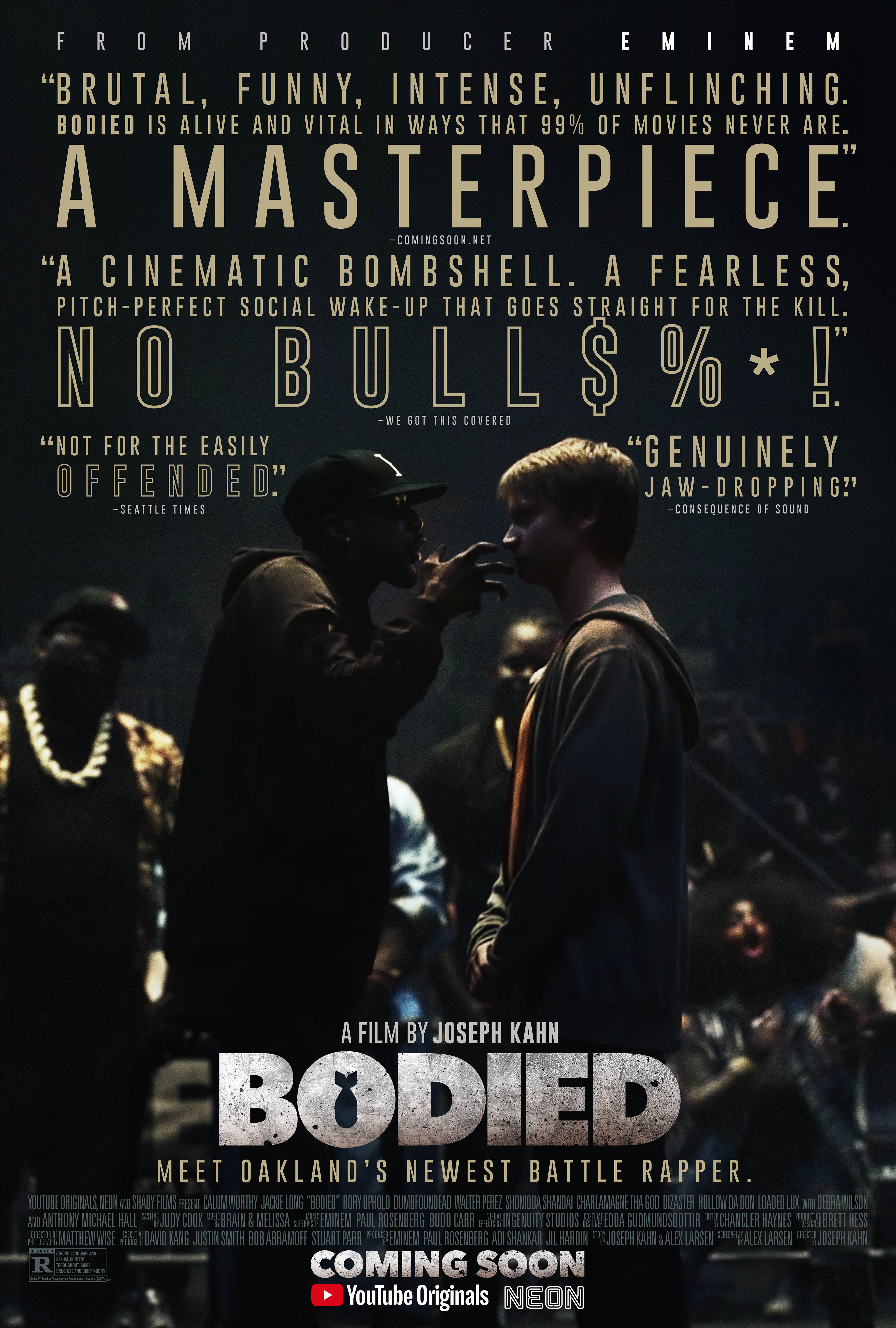 Bodied Final Poster