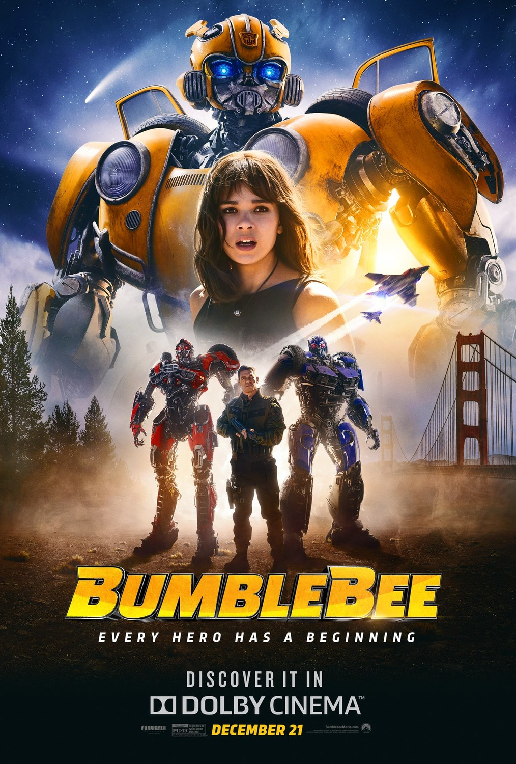 Transformers spinoff Bumblebee gets a Chinese release date