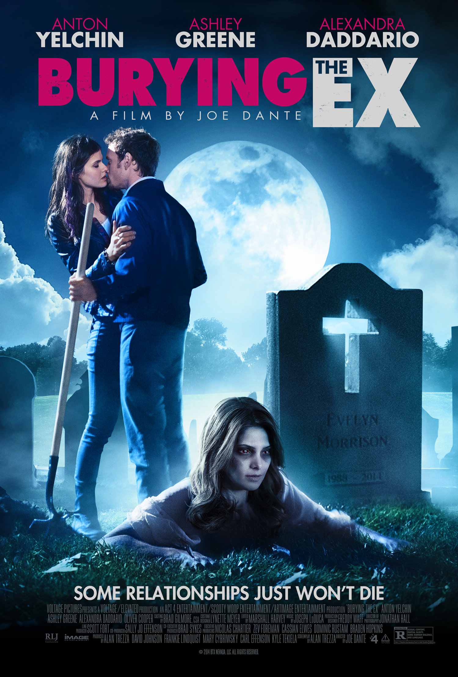 ashley greene is undead again in the burying the ex trailer. Black Bedroom Furniture Sets. Home Design Ideas