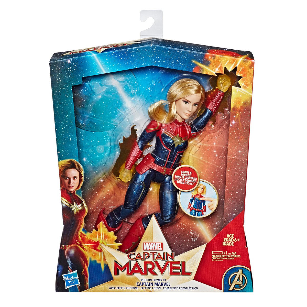 Captain Marvel Hasbro