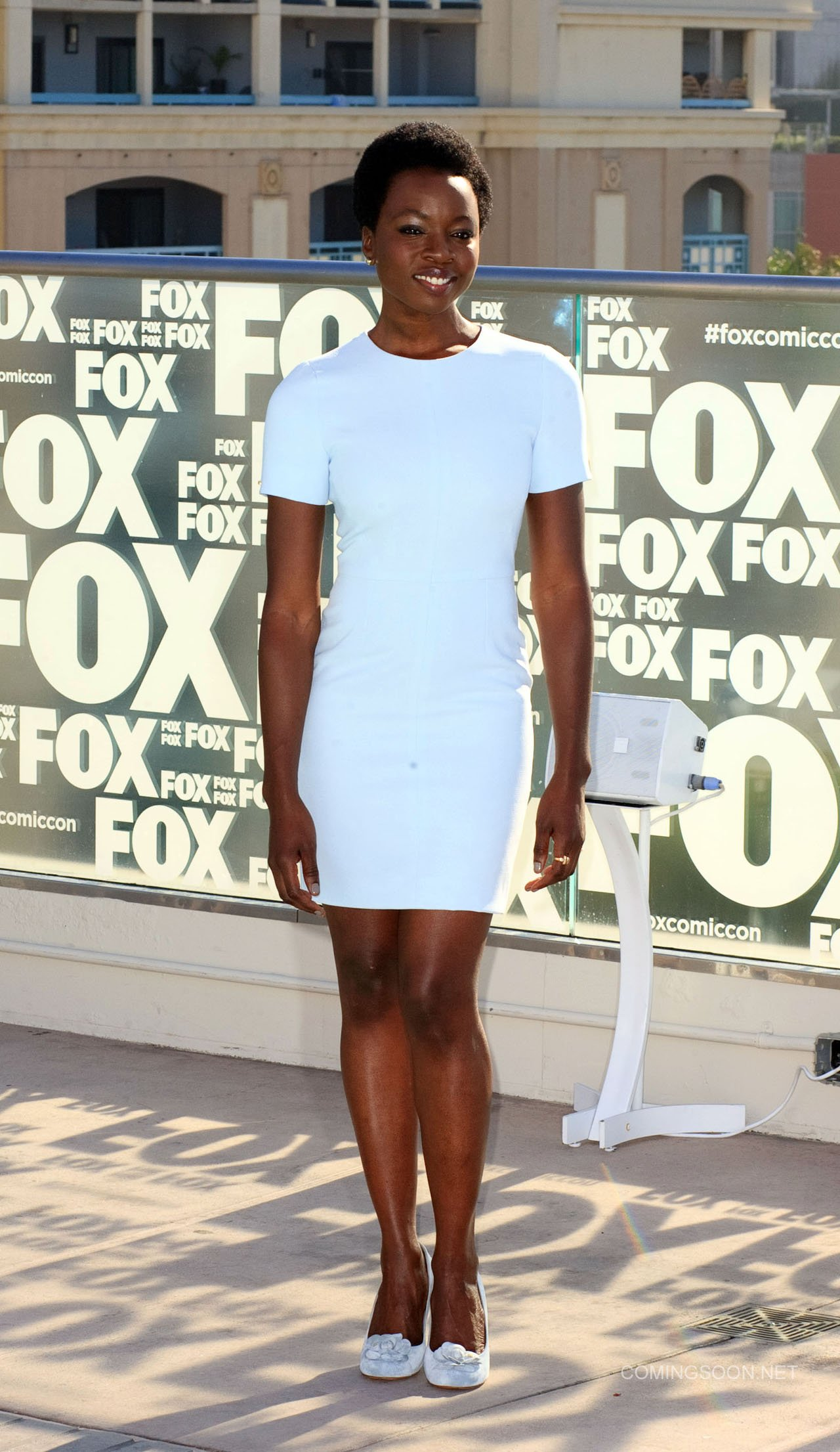 Fox Comic Con breakfast with the cast of Walking Dead and Outcast Featuring: Danai Gurira Where: San Diego, California, United States When: 22 Jul 2016 Credit: Tony Forte/WENN