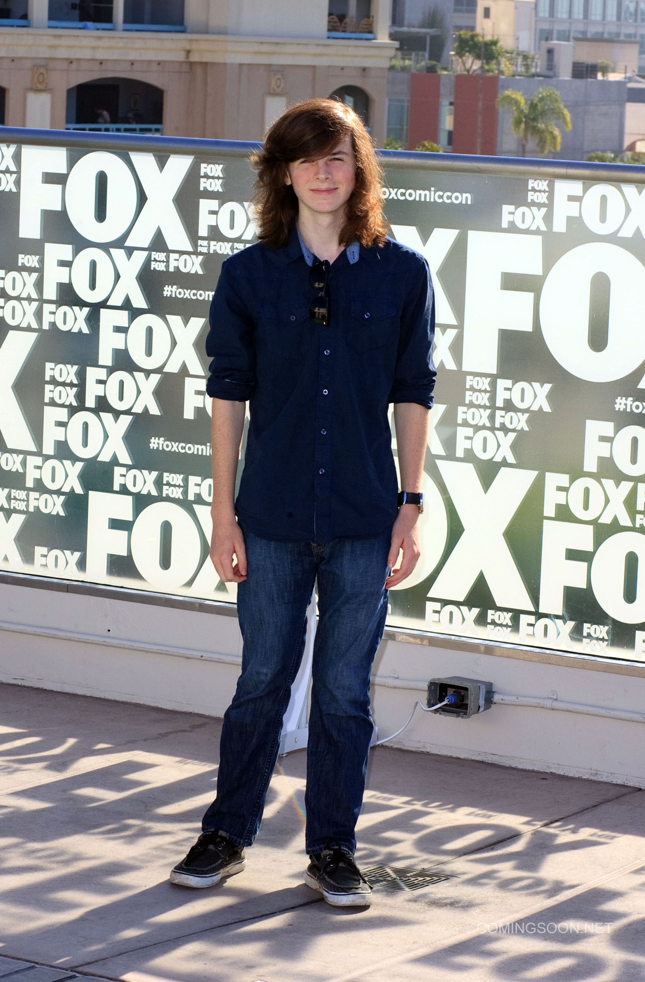Fox Comic Con breakfast with the cast of Walking Dead and Outcast Featuring: Chandler Riggs Where: San Diego, California, United States When: 22 Jul 2016 Credit: Tony Forte/WENN