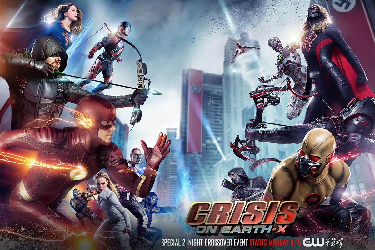 Image result for Crisis on Earth X poster
