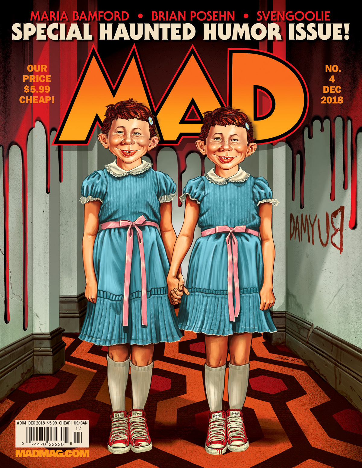 MAD #4 Cover