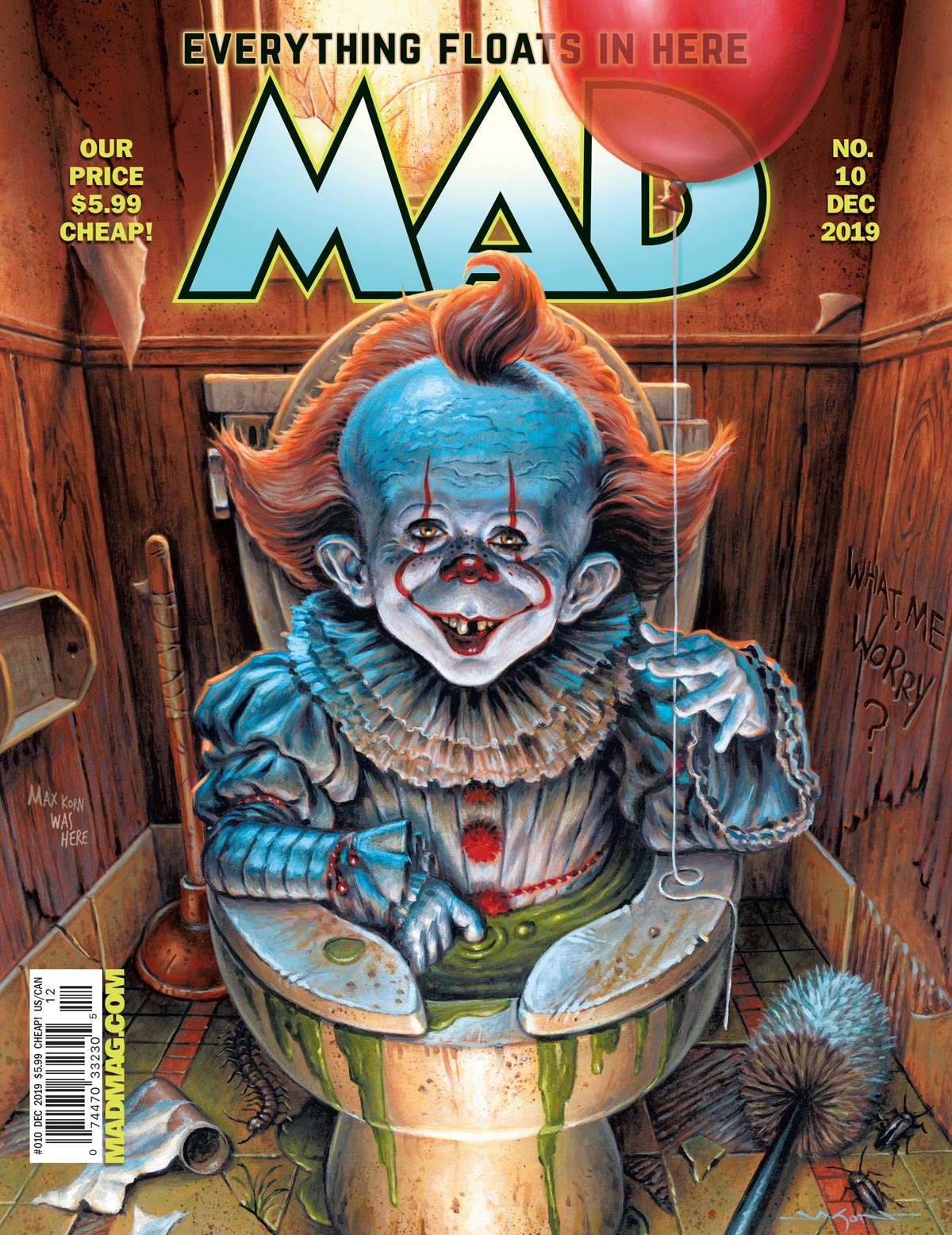 MAD #10 Cover