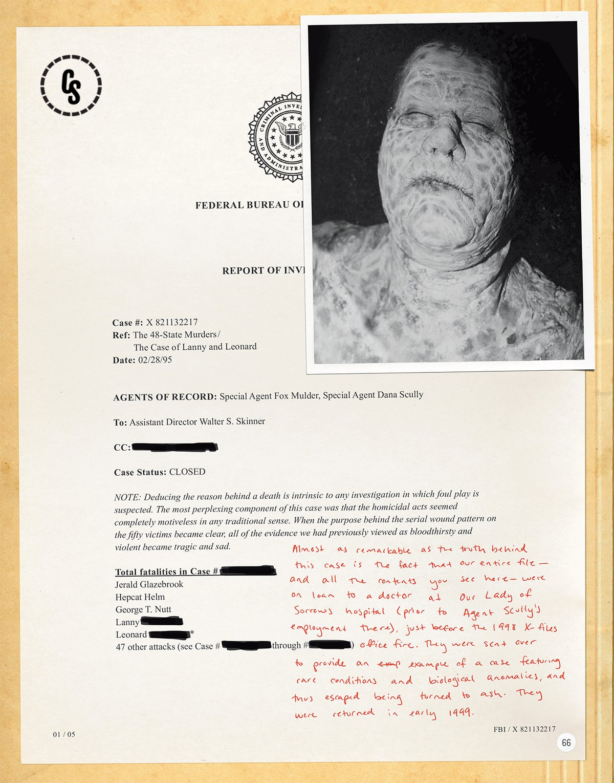 Exclusive The X-Files: The Official Archives First Look