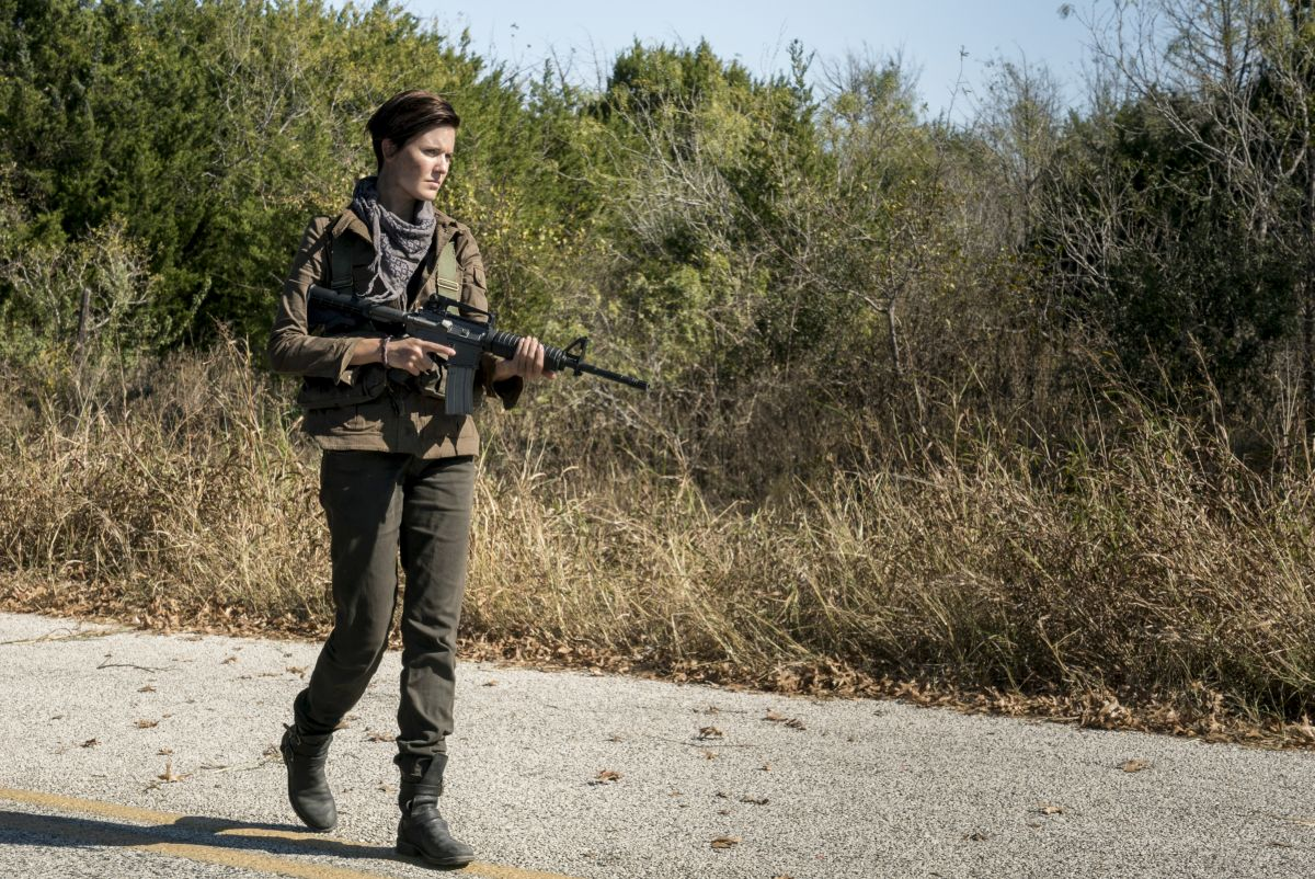 Maggie Grace as Althea - Fear the Walking Dead _ Season 4, Episode 1 - Photo Credit: Richard Foreman, Jr/AMC