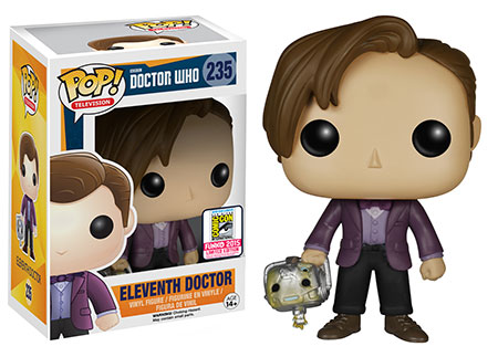 Pop! TV: Doctor Who - Eleventh Doctor holding Cyberman Head