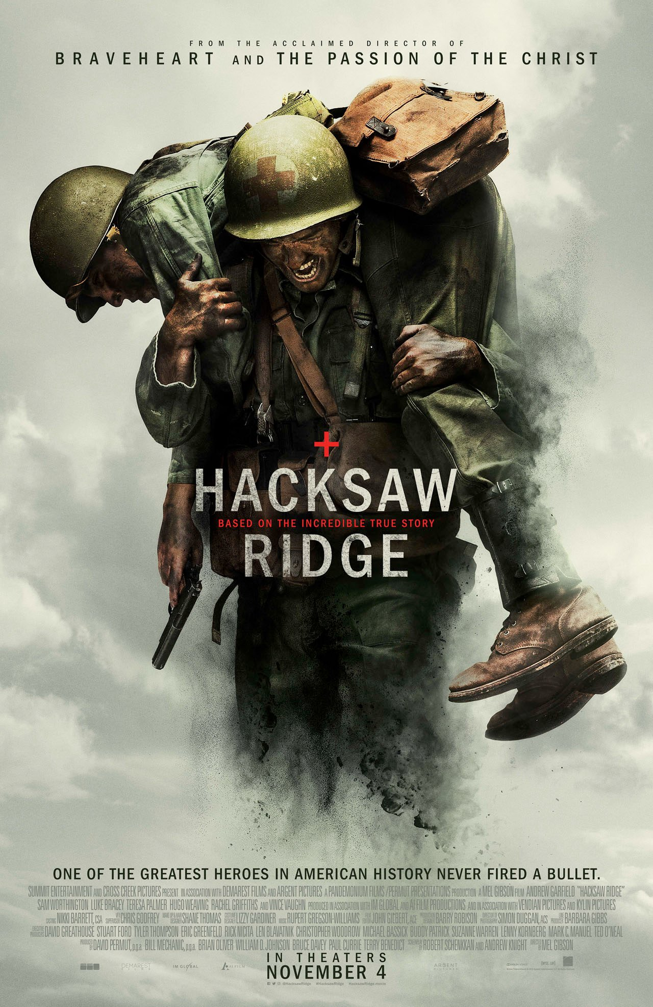 Image result for hacksaw ridge poster