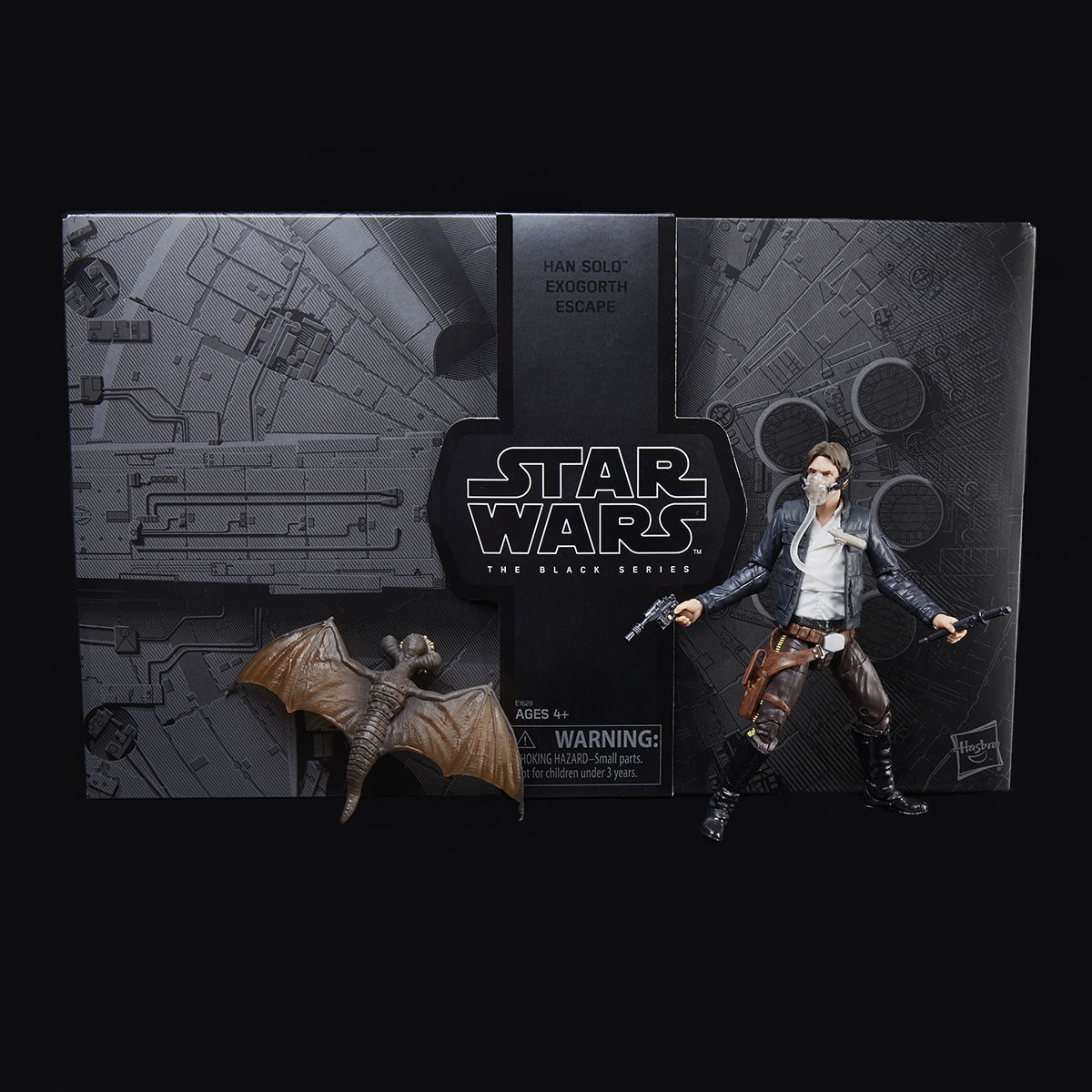 Star Wars: The Black Series Han Solo & Mynock Figues