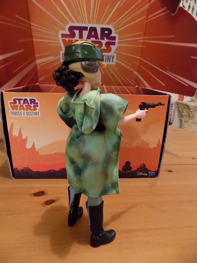 Hasbro's Star Wars Forces of Destiny Unboxing