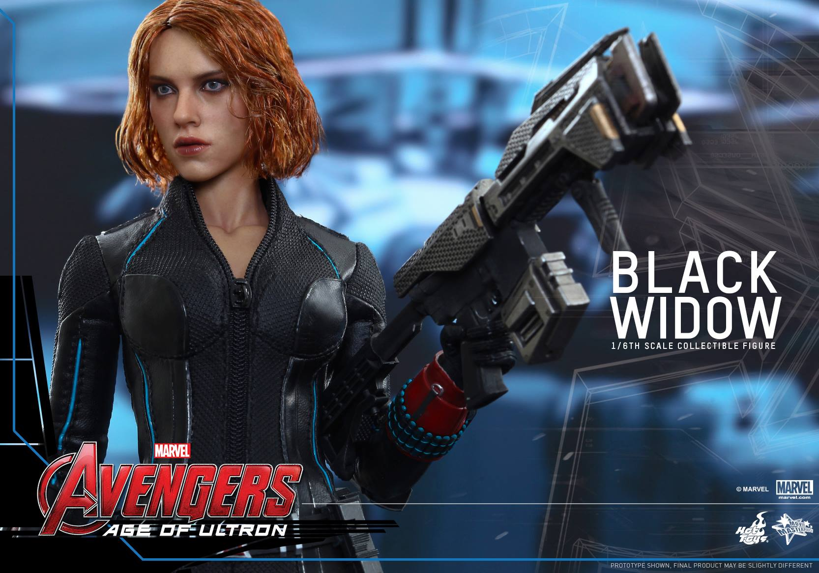 Hot Toys Black Widow Avengers: Age of Ultron