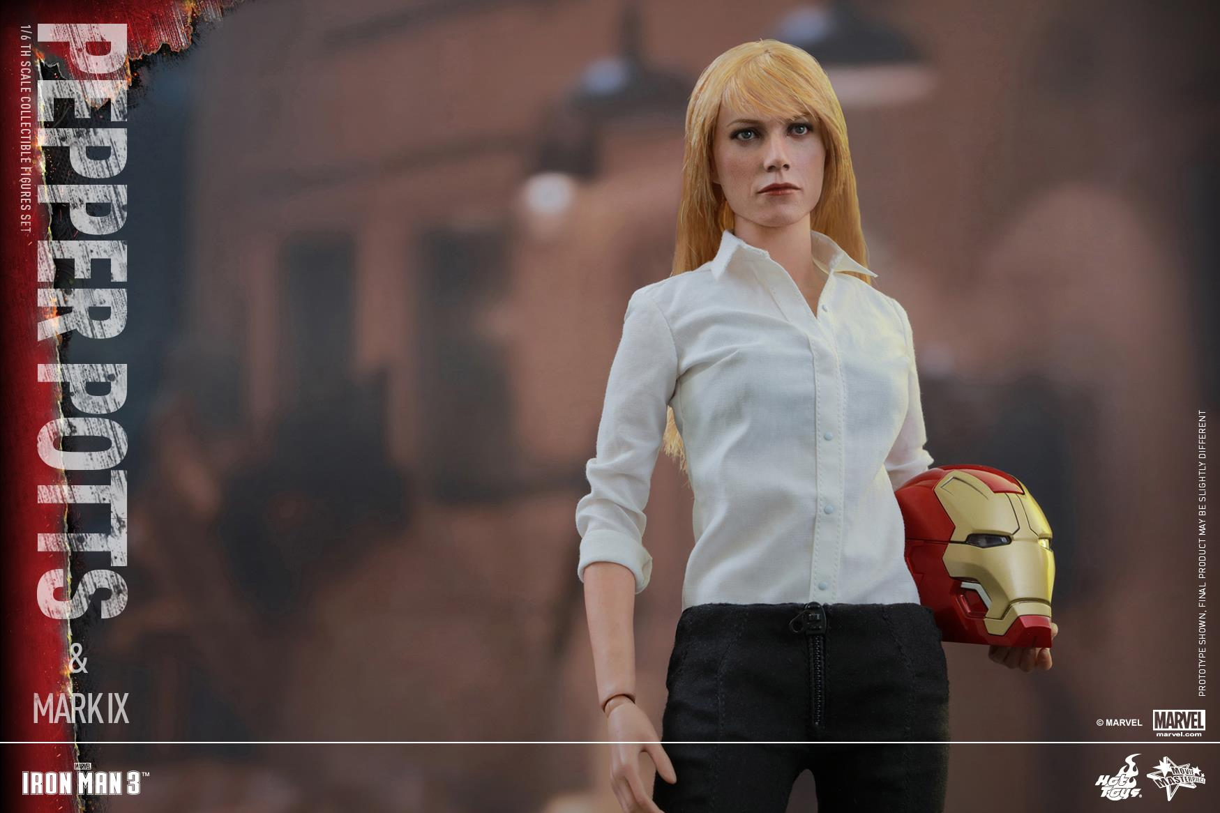 Hot Toys - Pepper Pots