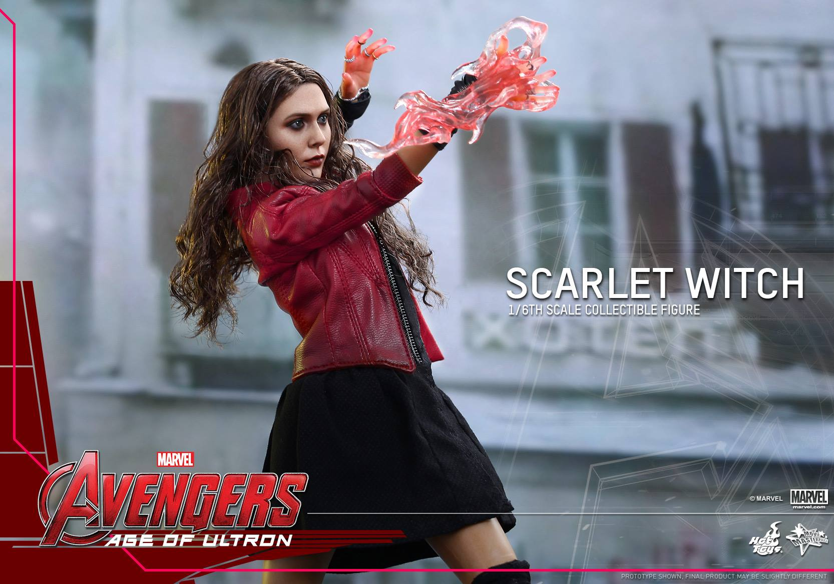 Hot Toys Scarlet Witch Avengers: Age of Ultron