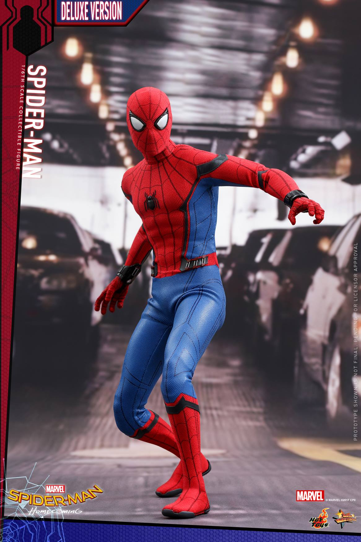 Spider-Man: Homecoming Hot Toy (Deluxe Version)