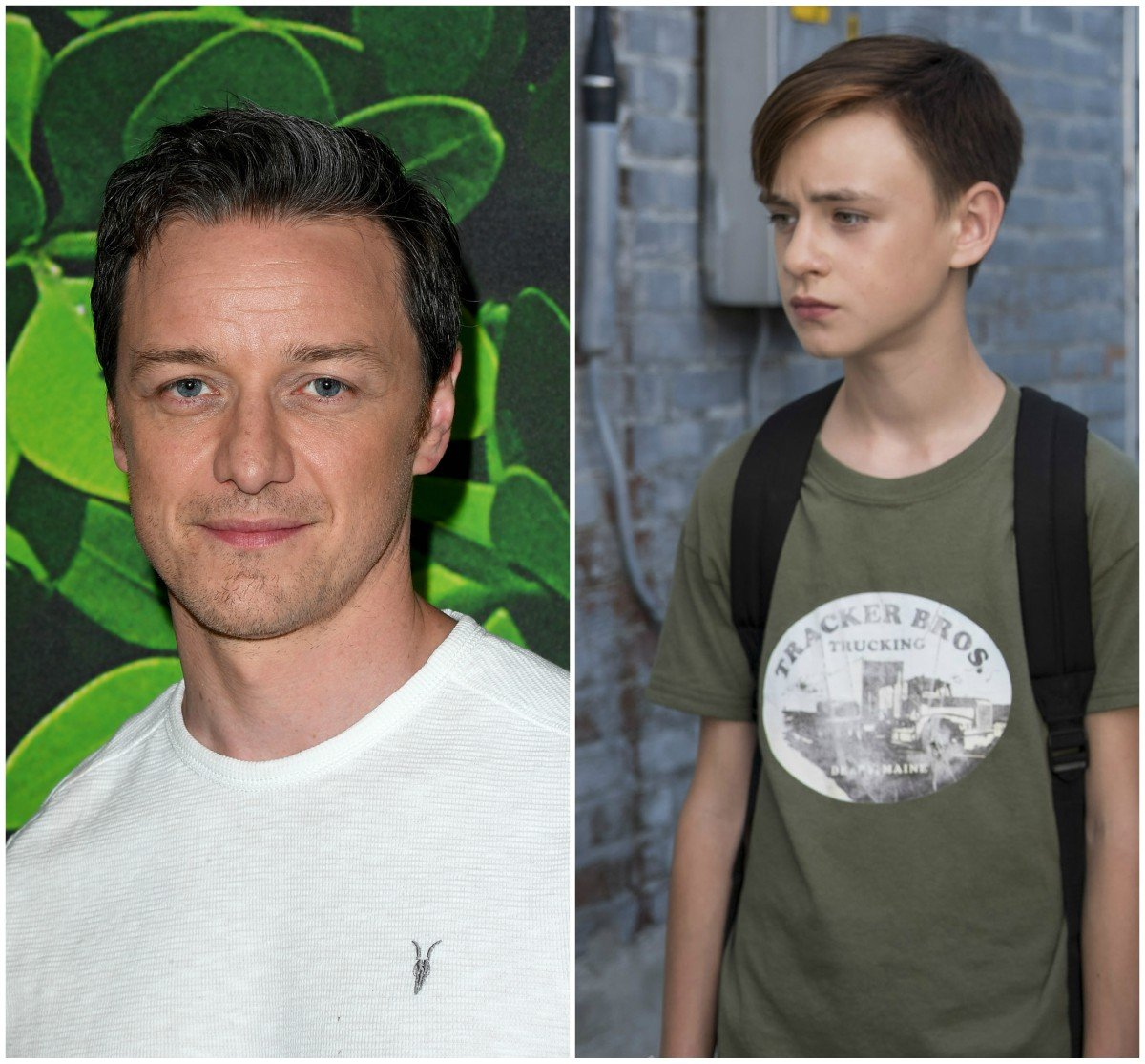 James McAvoy as Bill Denbrough