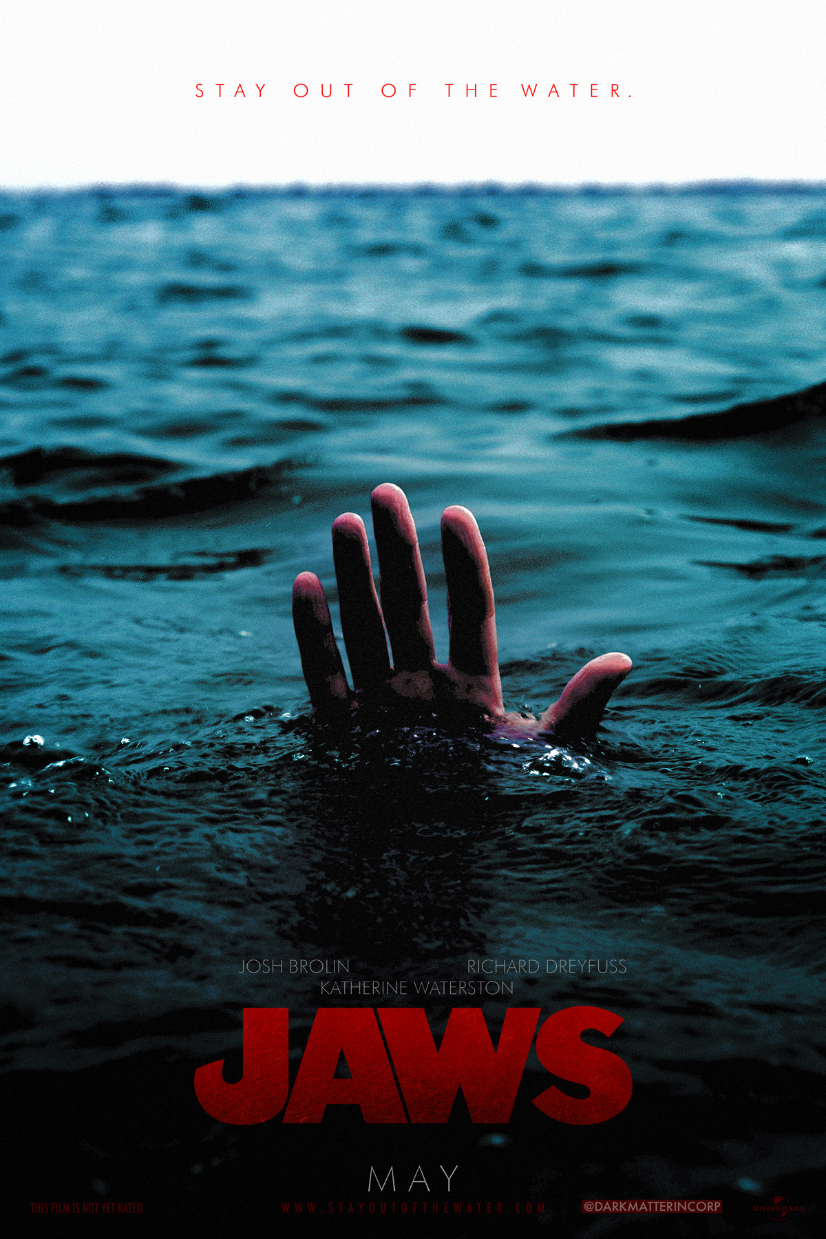 Jaws (fake poster) by Ian Fried