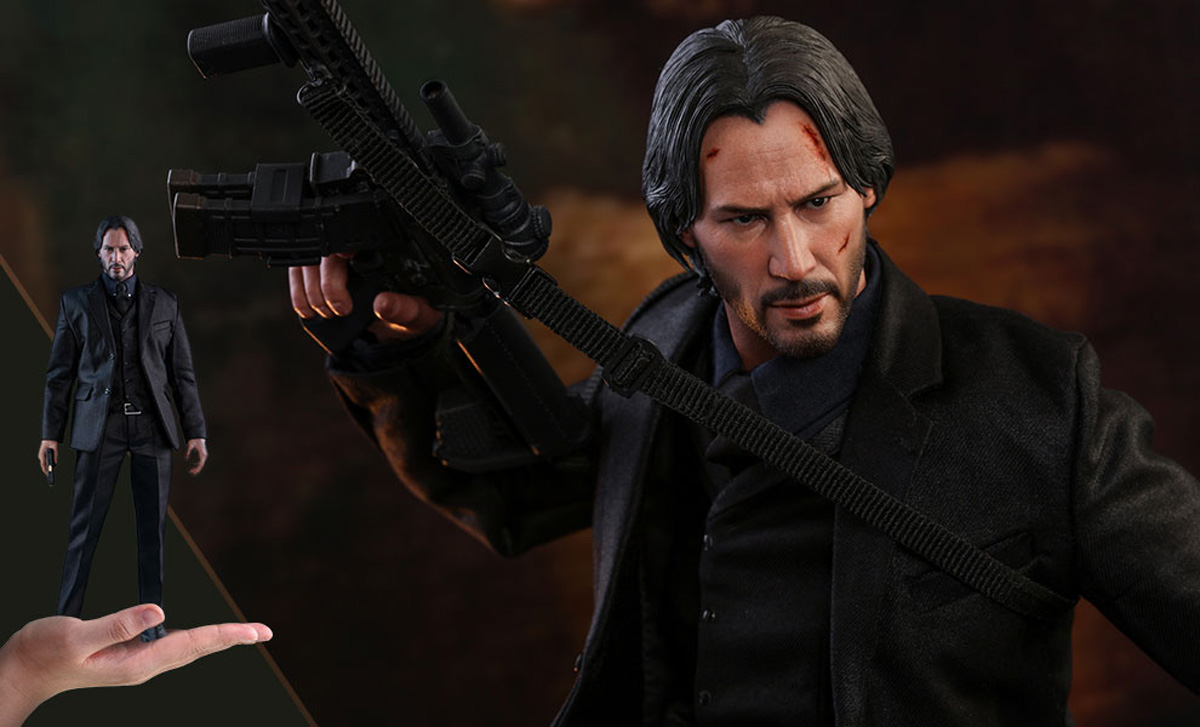 John Wick Hot Toys Figure
